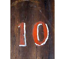 Ten Photographic Print
