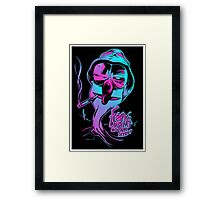 Fear & Loathing on Sesame Street Framed Print