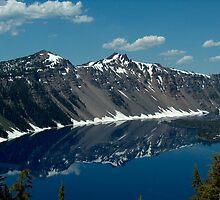 Crater Lake, Oregon by DMRPhotos