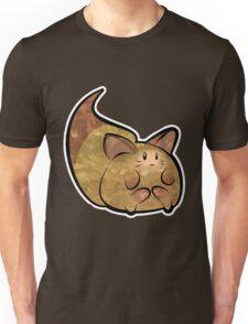 Fluffy Brown Kitty Cat Unisex T-Shirt