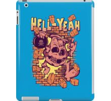 Hell Yeah! iPad Case/Skin