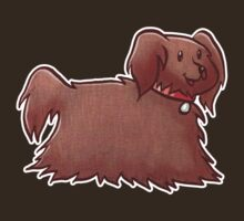 Fluffy Brown Puppy Dog by SaradaBoru