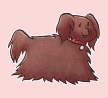 Fluffy Brown Puppy Dog Kids Clothes