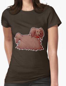 Fluffy Brown Puppy Dog T-Shirt