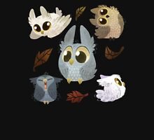 Puffy Owls Unisex T-Shirt