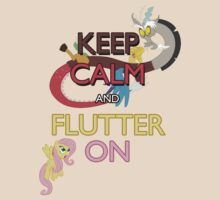 Keep Calm and Flutter On by Strangetalk