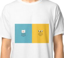Finn and Jake quotes Classic T-Shirt