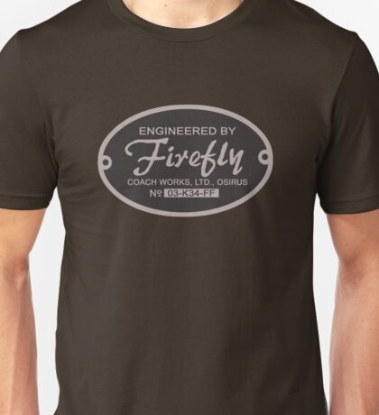 Firefly Coach Works LTD Unisex T-Shirt