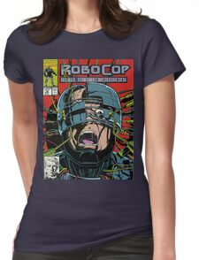 Robocop Comic Womens Fitted T-Shirt