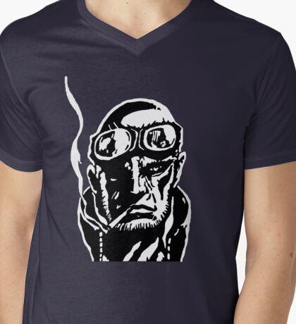 Madworld - Profile Mens V-Neck T-Shirt