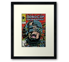 Robocop Comic Framed Print