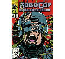 Robocop Comic Photographic Print