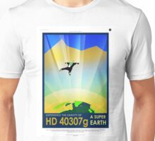 Vintage SpaceX HD 40307g Science Fiction Unisex T-Shirt