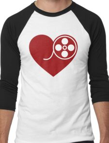 Heart Film Men's Baseball ¾ T-Shirt