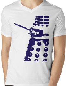 Dr Who Dalek Mens V-Neck T-Shirt