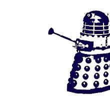 Dr Who Dalek by IamJane--