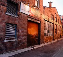 Cincinnati Alley off of Vine Street by marcum502