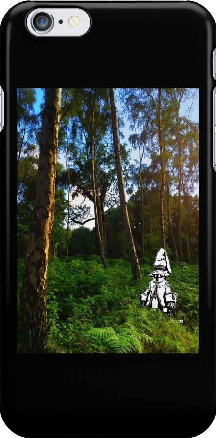 Where's Vivi? Iphone Case by tribal191983