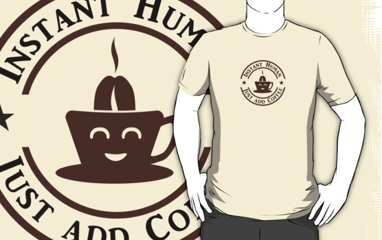 Coffee: Instant Human by vivendulies