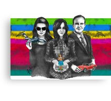 AGENTS & THEIR TOYS Canvas Print
