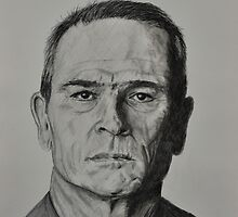 Tommy Lee Jones by Tricia Winwood