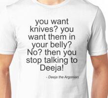 Deeja the Diva - Light Unisex T-Shirt