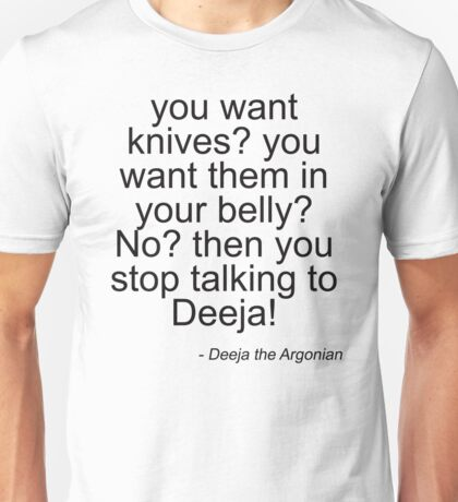 Deeja the Diva - Light Unisex T-Shirt
