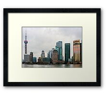Beautiful Shanghai Framed Print