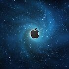 Apple galaxy by BrandonDanis