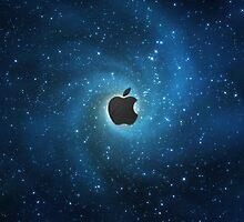 Apple galaxy by BrandonDanis