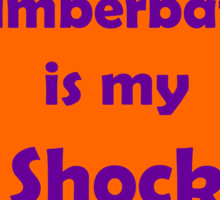 Benedict Cumberbatch is my Shock Blanket Sticker