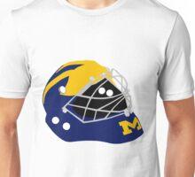 Wolverines Winged Goalie Mask Unisex T-Shirt