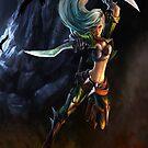 League of Legends - Katarina by Clengtan