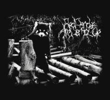 Black Metal Red Panda by Colin Wren