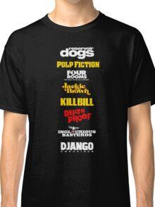 Quentin Tarantino Filmography Classic T-Shirt