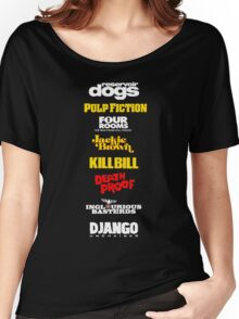 Quentin Tarantino Filmography Women's Relaxed Fit T-Shirt