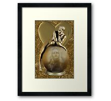 ♚ ♥♥♛ SHE'S A MYSTERY TO ME ♚♥♥ ♛  Framed Print