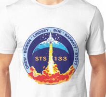 STS-133 Flight Crew Mission Patch Unisex T-Shirt