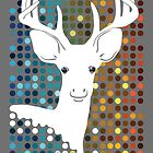 Disco Deer by Jessica Bone