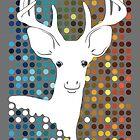 Disco Deer by Jessica Bone