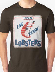 Live Kicken' Lobsters! T-Shirt