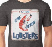 Live Kicken' Lobsters! Unisex T-Shirt