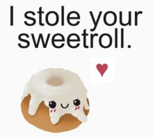 I stole your sweetroll. by cuteincarnate