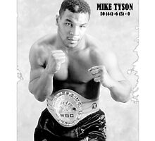 Mike Tyson by Tolcarne