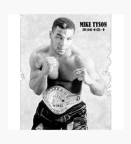 Mike Tyson Photographic Print