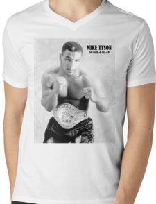Mike Tyson Mens V-Neck T-Shirt