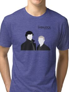 Sherlock Holmes & Dr. Watson - The SFO Tri-blend T-Shirt
