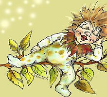 Little chestnut fairy by Renata Lombard