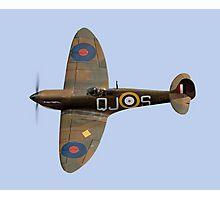 Spitfire Mk 1 R6596 QJ-S Photographic Print