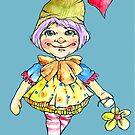 Little gentle fairy by Renata Lombard